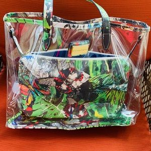 Christian Lacroix Butterfly Tote Bag